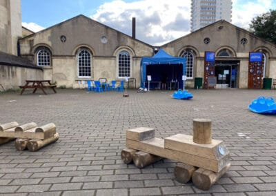 London Museum of Water and Steam Reopening Outside
