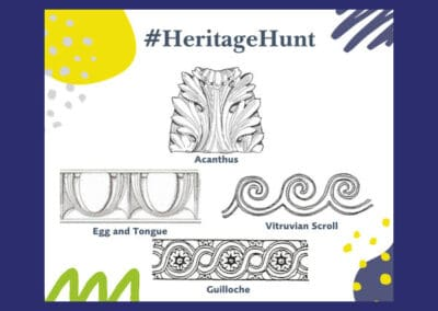 Museum of Bath Architecture's Decorative Designs Heritage Hunt Resource