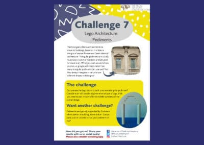 Museum of Bath Architecture's LEGO Achitecture Challenge 7 Pediments Resource