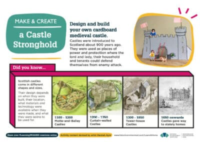 Historic Environment Scotland's Design a Castle Stronghold Resource