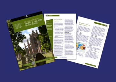 Historic Environment Scotland's Investigating Abbeys and Priories in Scotland Resource