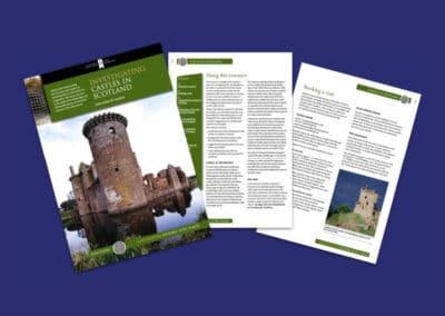 Historic Environment Scotland's Investigating Castles in Scotland Resource