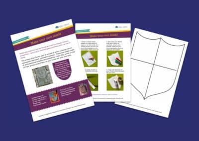 Historic Environment Scotland's Make Your Own Heraldic Shield Resource