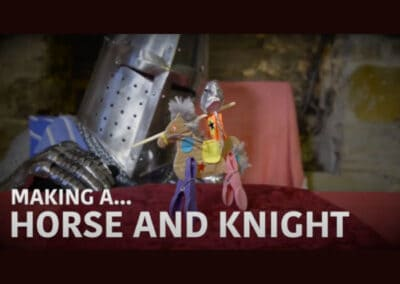Historic Environment Scotland's Make Your Own Jousting Champions Video Resource