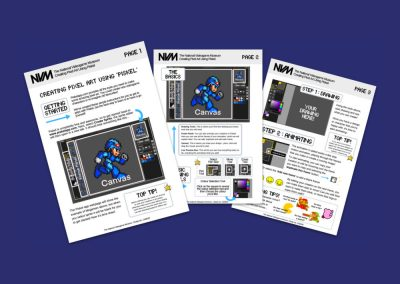 National Videogame Museums Create Your Own Pixel Art Character Resource Profile Image
