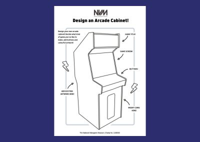 National Videogame Museums Design an Arcade Cabinet Resource Image