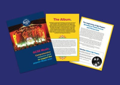 The Beatles Story's GCSE Music Education Pack