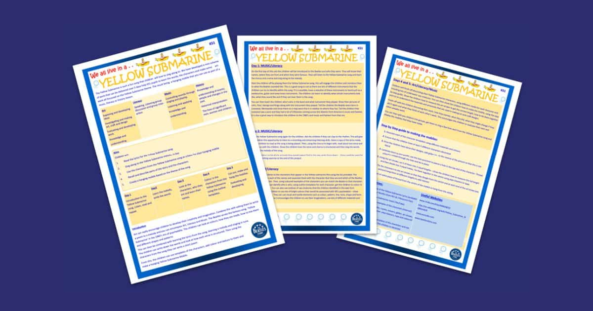 The Beatles Story S Ks1 Five Day Lesson Plan Scheme That café stays open all night. the beatles story s ks1 five day lesson