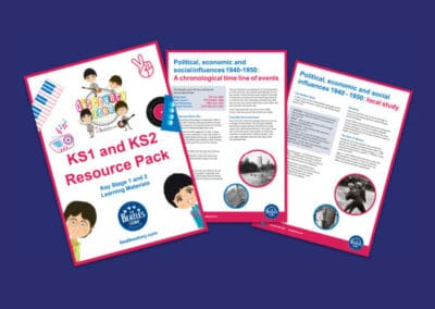 The Beatles Story's KS1 and KS2 Resource Pack