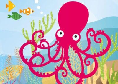 The Beatles Story's Octopus' Garden Art Resource