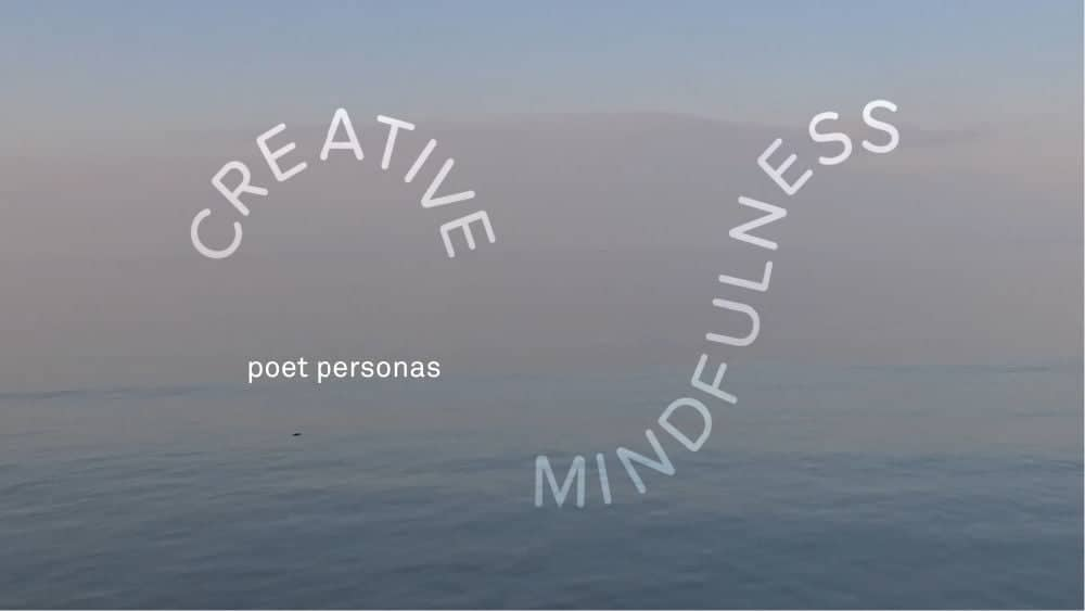Turner Contemporary's Turner Poet Personas Creative Mindfulness Activity
