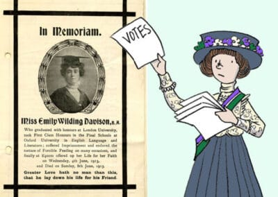 UK Parliament's Emily Wilding Davison, Presentation Resource