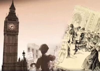 UK Parliament's First Mass Petition – Votes for Women Interactive Resources