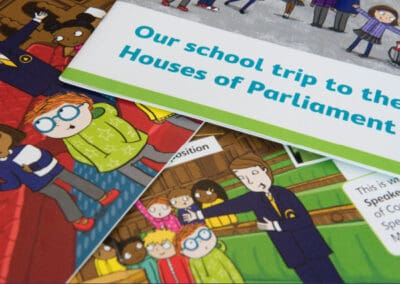 UK Parliament's Our School Trip to the Houses of Parliament Resource