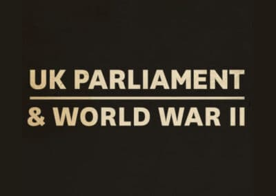 UK Parliament's UK Parliament and World War II Video (Secondary) Resource