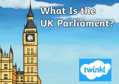 UK Parliament's What is the UK Parliament? Twinkl Lesson Pack Resource