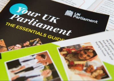 UK Parliament's Your UK Parliament – The Essentials Guide Resource