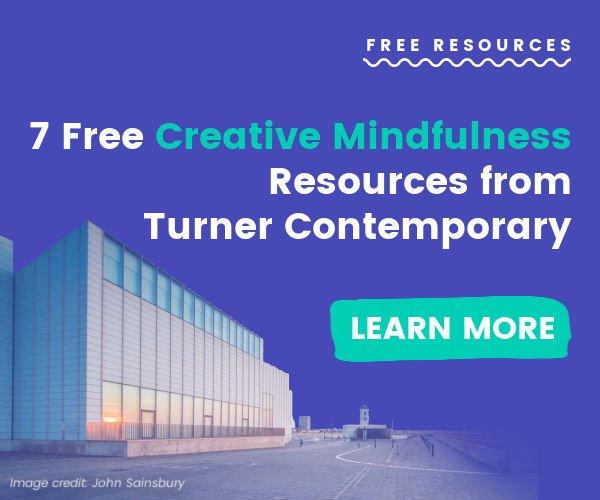 Turner Contemporary Banner Advert