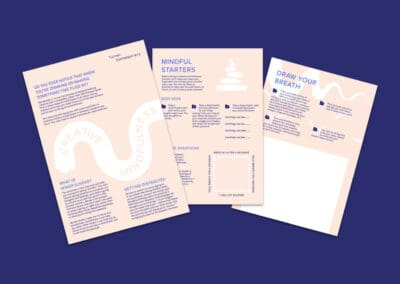Turner Contemporary Creative Mindfulness Education Pack
