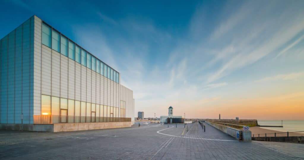 Exterior photograph of Turner Contemporary Gallery