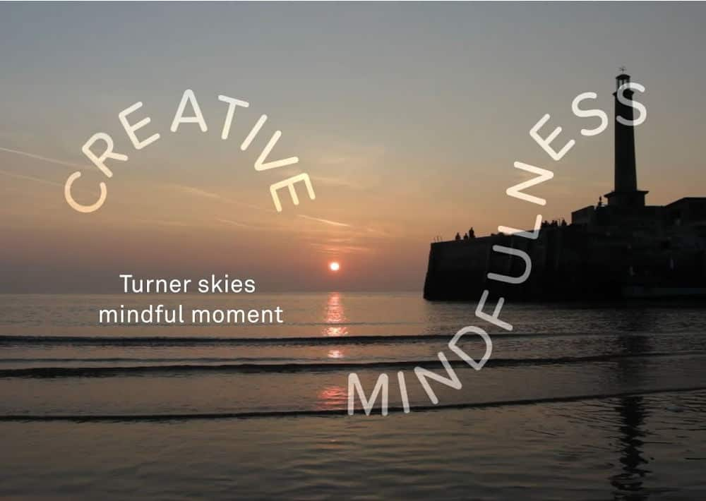 Turner Contemporary's Creative Mindfulness Resources Sunset Image