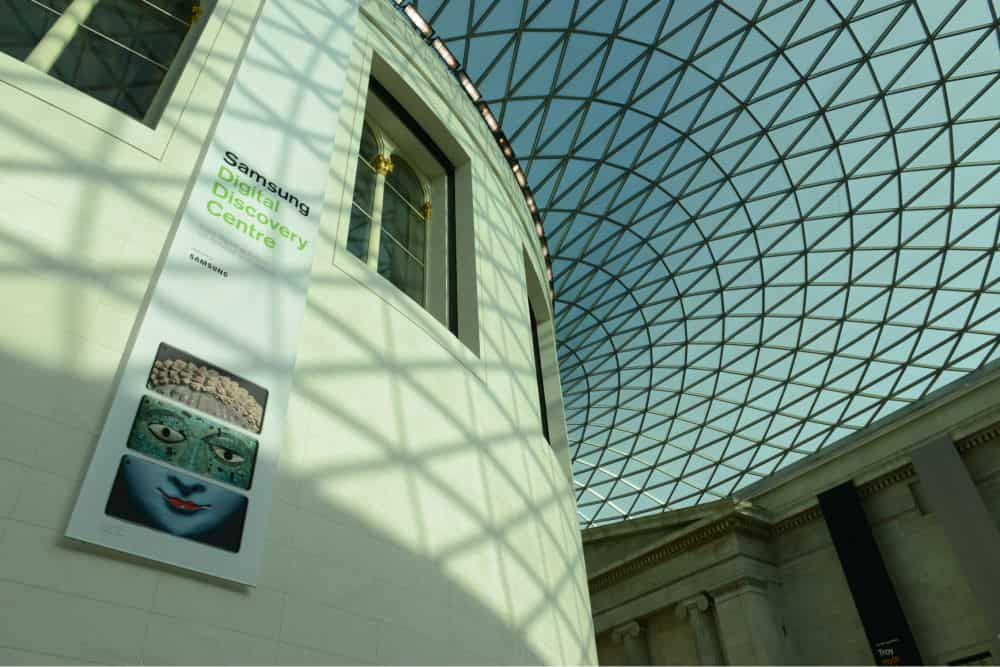 Bringing school trips into the classroom British Museum Virtual Visits Image