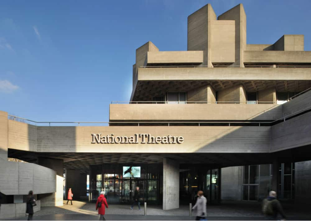 The National Theatre Exterior Shot