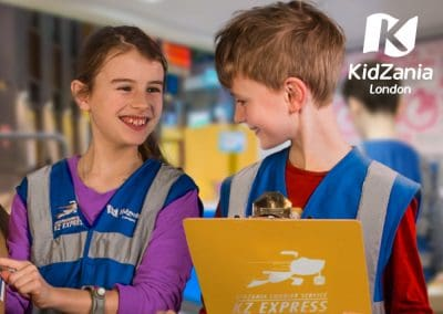 KidZania London School Trip