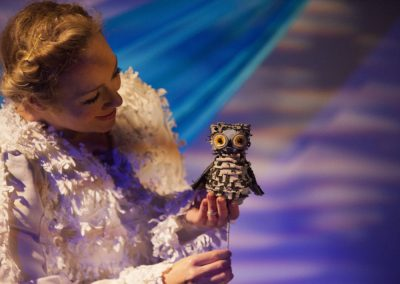 WOW! Said the Owl: The New Digital Performance from Little Angel Theatre