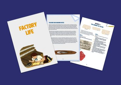 David Livingstone Birthplaces Factory Life Education Pack Profile