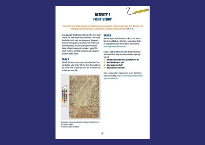 David Livingstone Birthplaces Fishy Study Resource Profile
